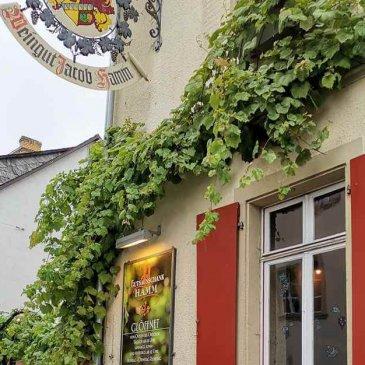 Winery Hamm in Oestrich-Winkel serves Hessian specialties
