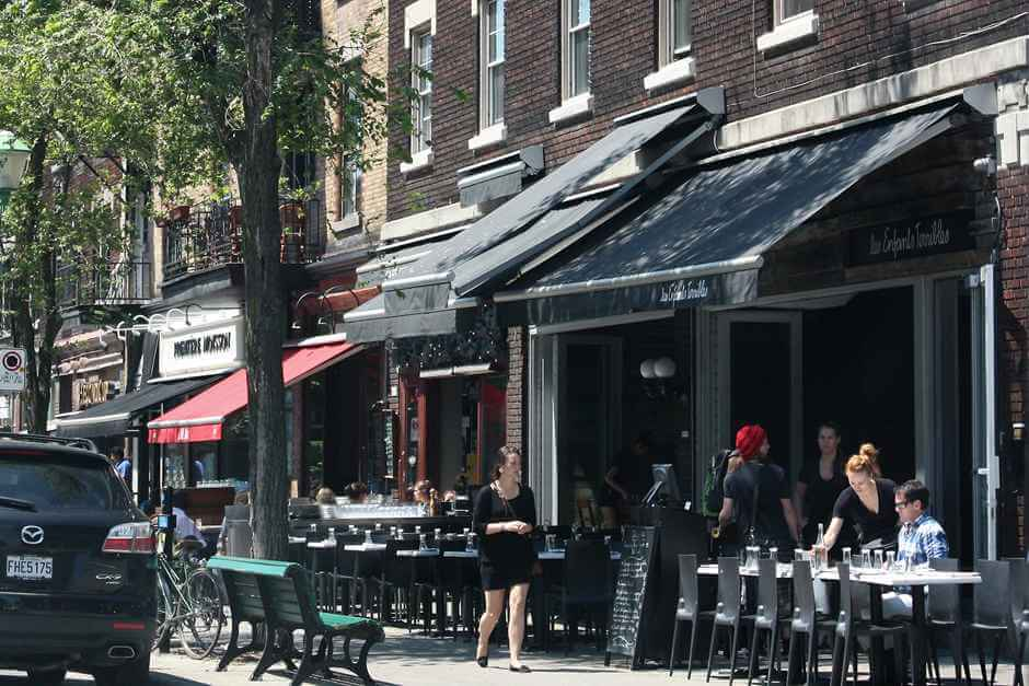 One of the bistros on our Montreal City Tour for Foodies