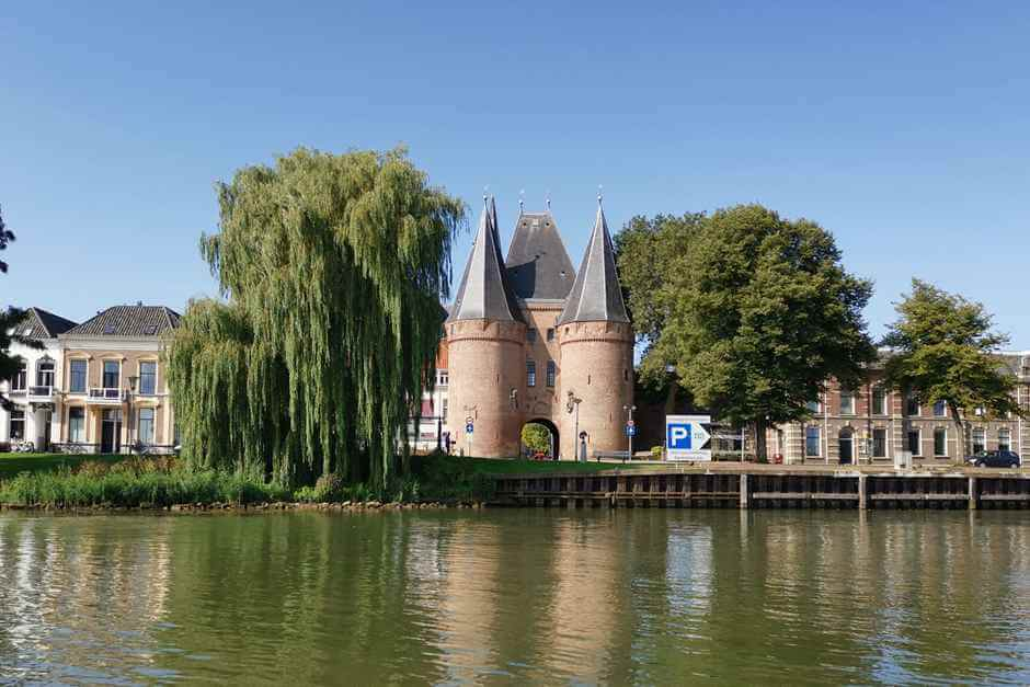 Beautiful cities in Holland - Kampen is one of them
