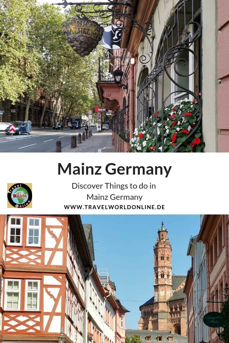 Top sights in Mainz old town