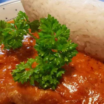 African food - African stew from Nigeria