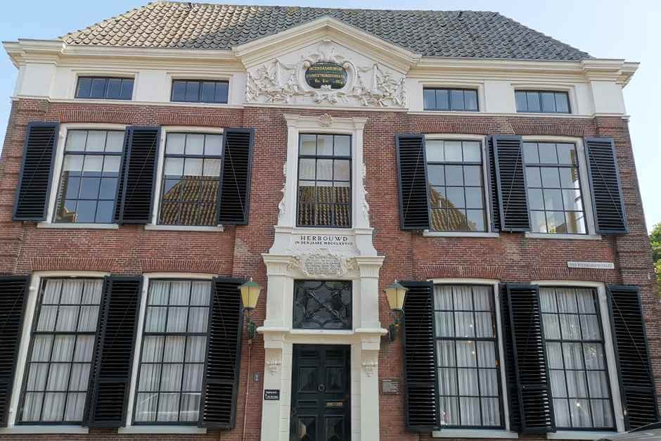 Holland old town villas beautiful cities