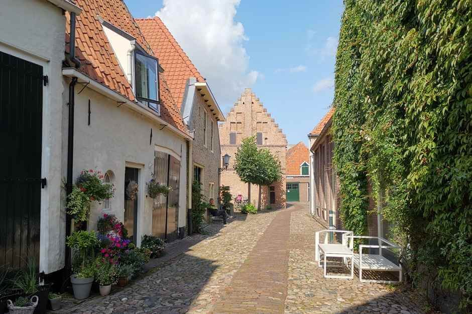 Holland flowered streets beautiful cities