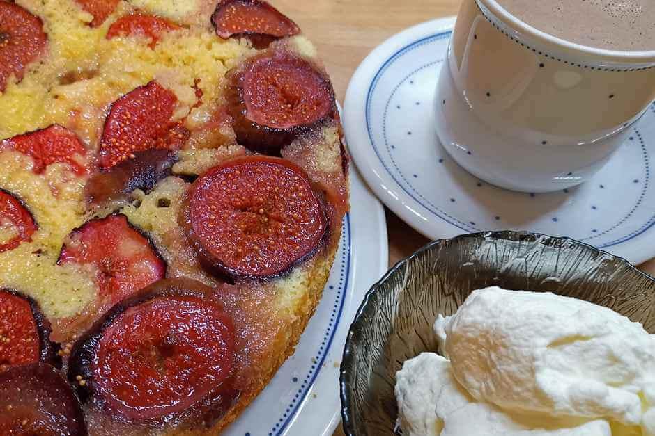 French baking - fig cake recipe