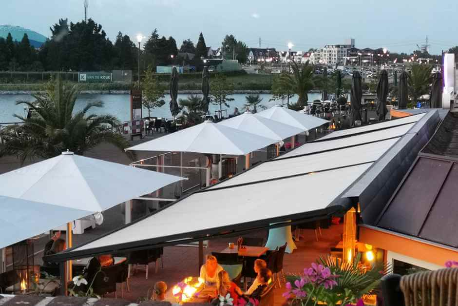 Waterfront restaurants Holland's beautiful cities