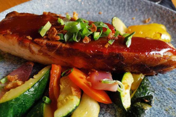 Pork belly with vegetables - Hollands beautiful cities