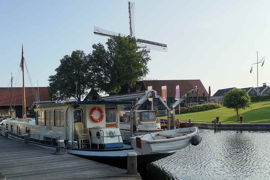 Windmill - beautiful cities in Holland