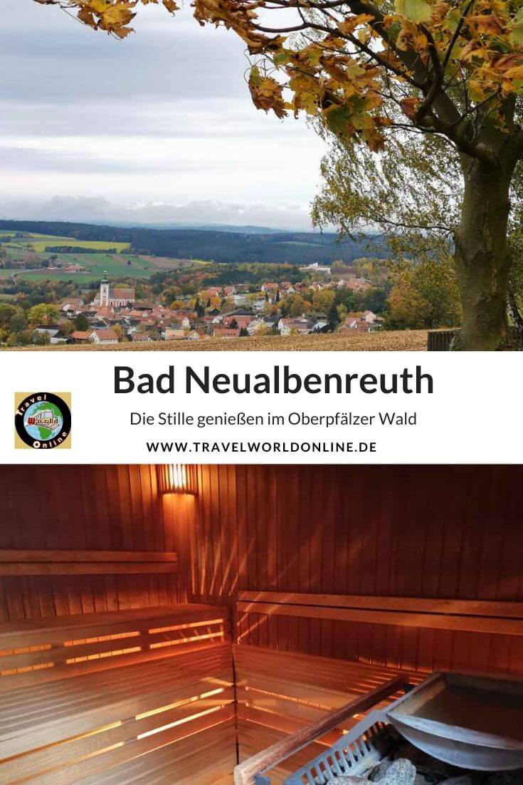 Bad Neualbenreuth in the Upper Palatinate Forest