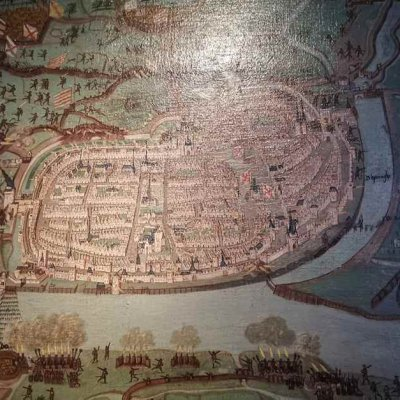 The city of Deventer at the time of the Hanseatic League