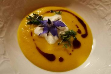 Pumpkin soup - specialties in Bad Neualbenreuth in the Upper Palatinate Forest