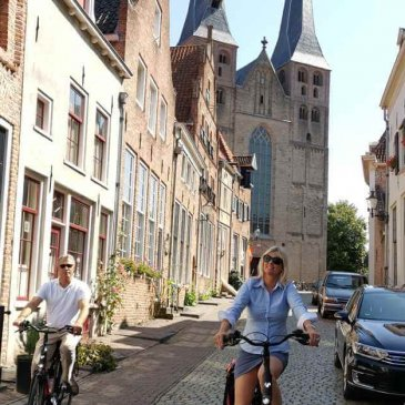 With Hanzetour in Bergkwartier - Holland's beautiful cities - Hanseatic cities in Holland