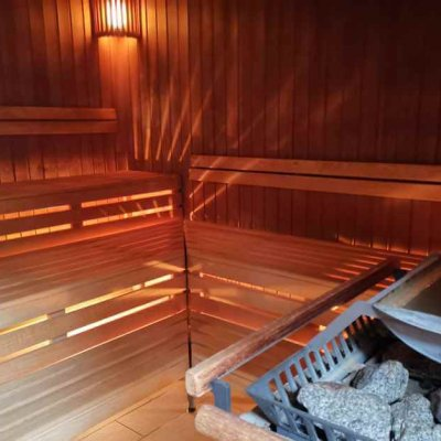 Sauna in the Sibyllenbad in Bad Neualbenreuth in the Upper Palatinate Forest