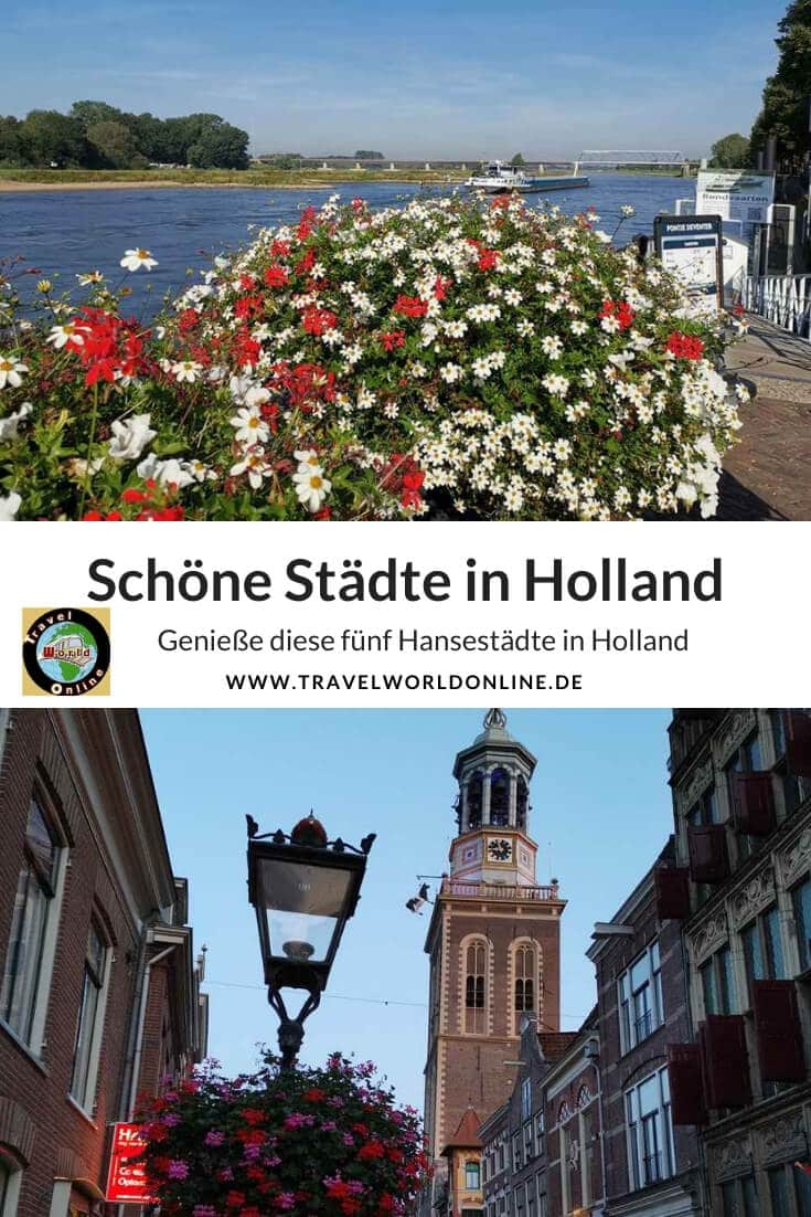 Beautiful cities in Holland
