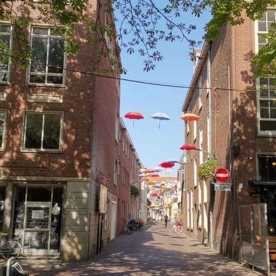 Street of Bookstores - Holland's Beautiful Cities - Hanseatic Cities in Holland