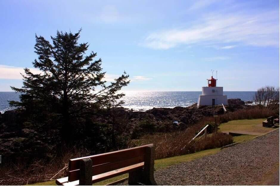 Ucluelet Lighthouse am Wild Pacific Trail