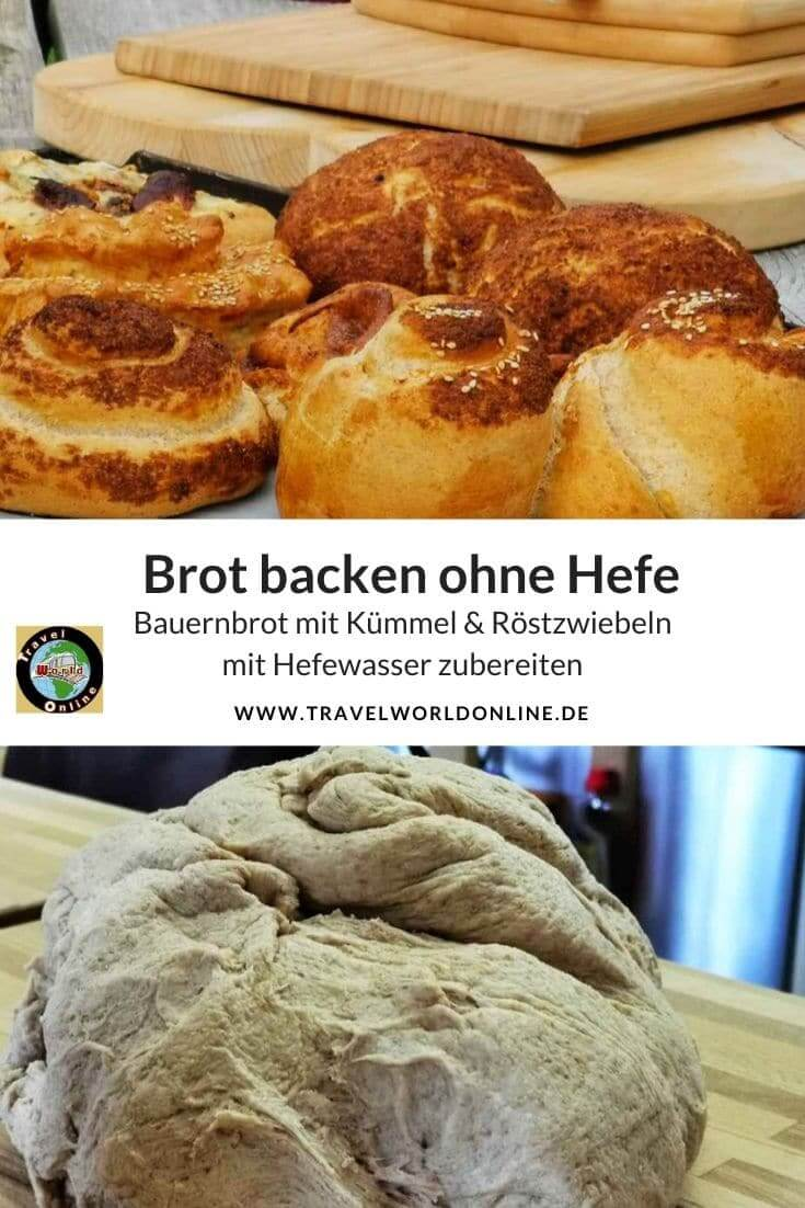 Bake bread without Yeast