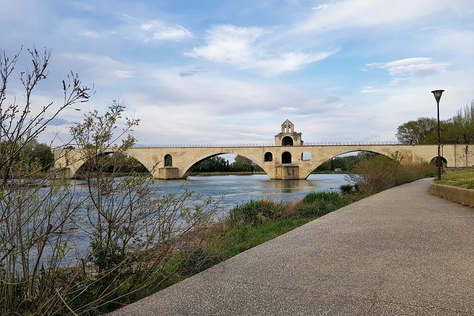 Avignon Bridge - This is where the crime novels set in Provence by Pierre Lagrange take place