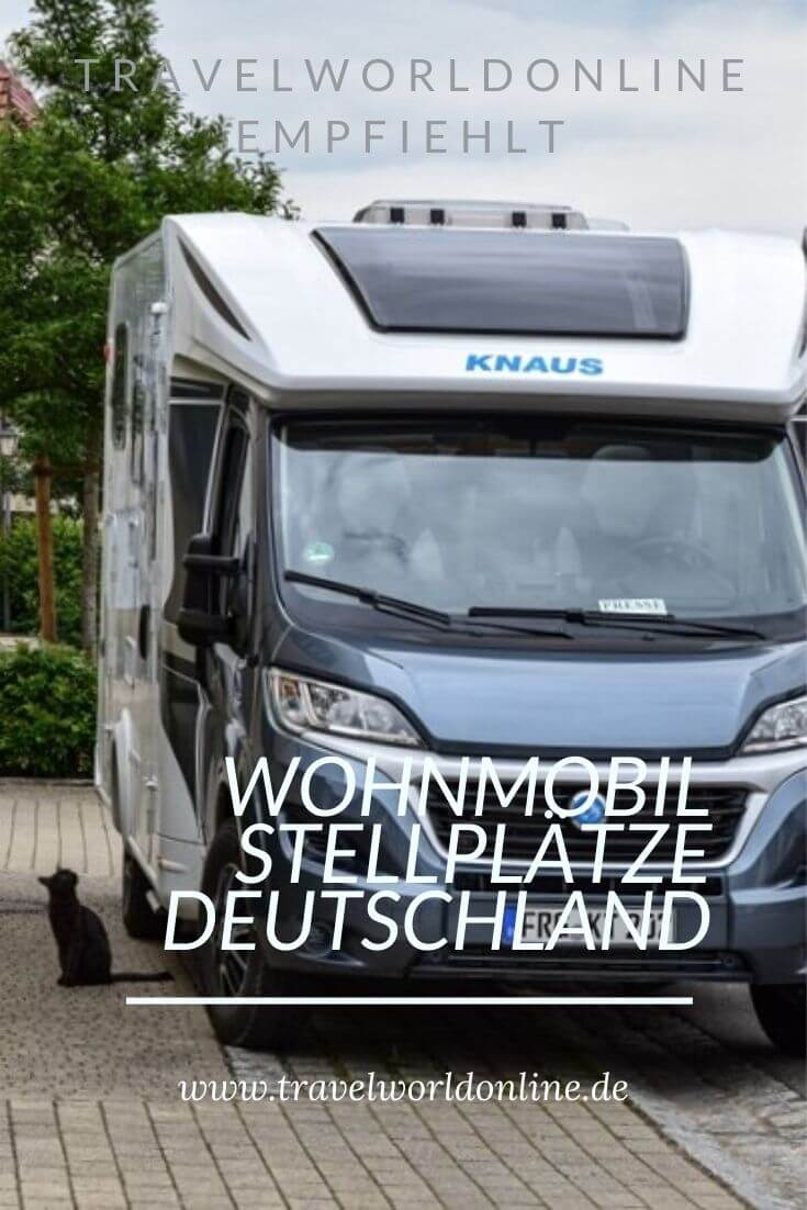 Spend the night in a motorhome in Germany - camping pitches