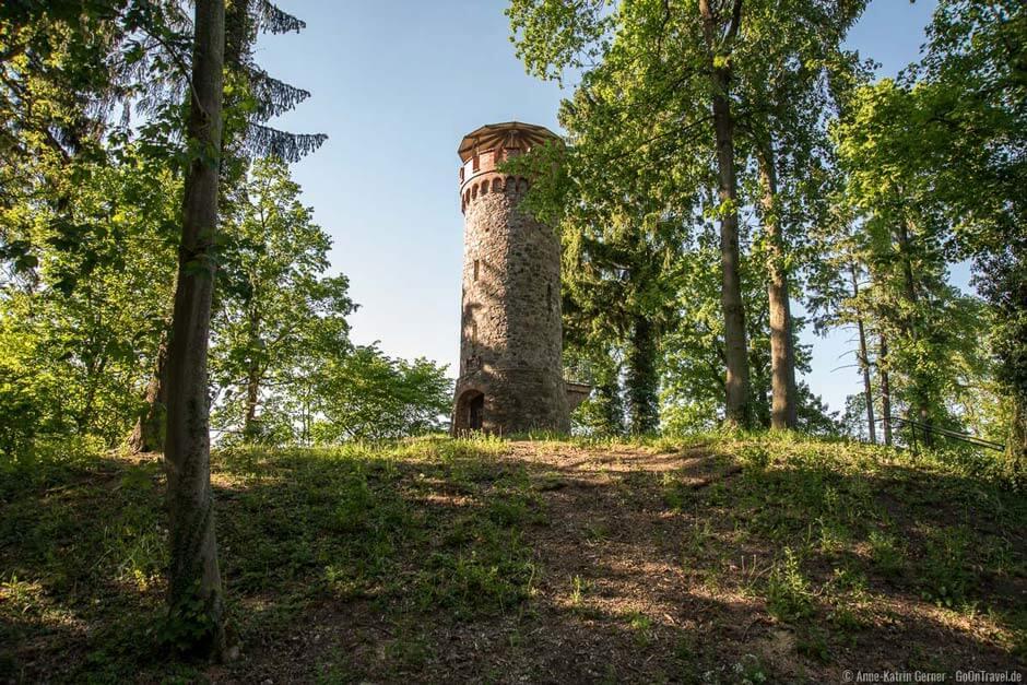Askanierturm at the Werbellinsee - hiking in Germany