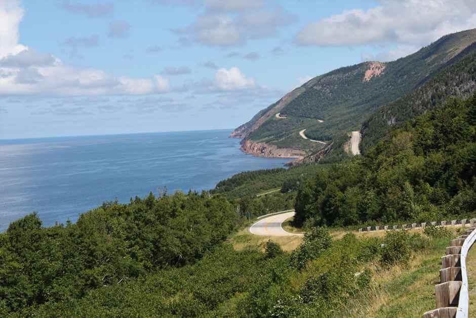 Der Cabot Trail Nova Scotia