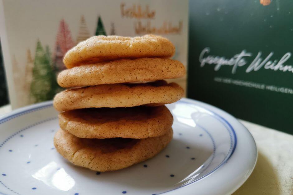 Snickerdoodles zu Weihnachten