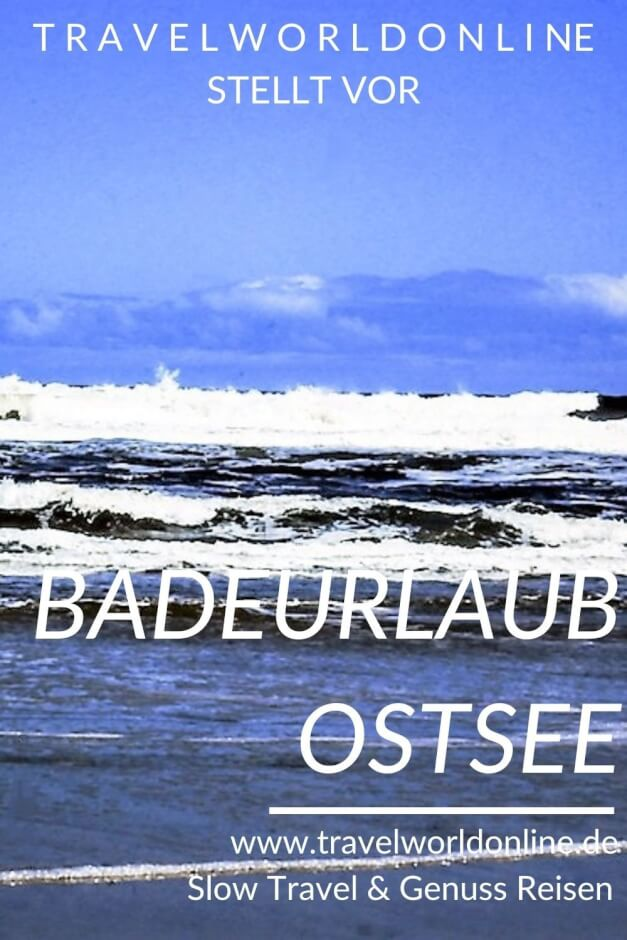 Beach holiday in the Baltic Sea