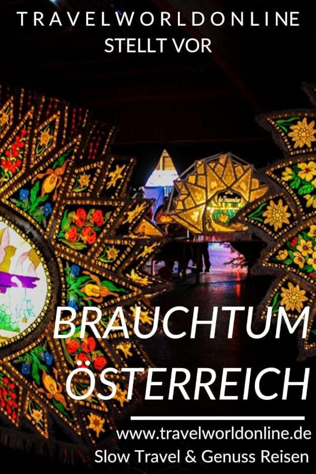 Brauchtum Österreich im Winter