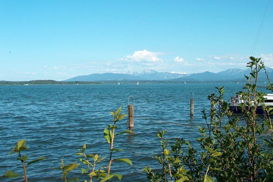 Der See bei Seebruck
