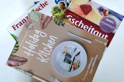 These are must-have cookbooks - recipes from all over the world