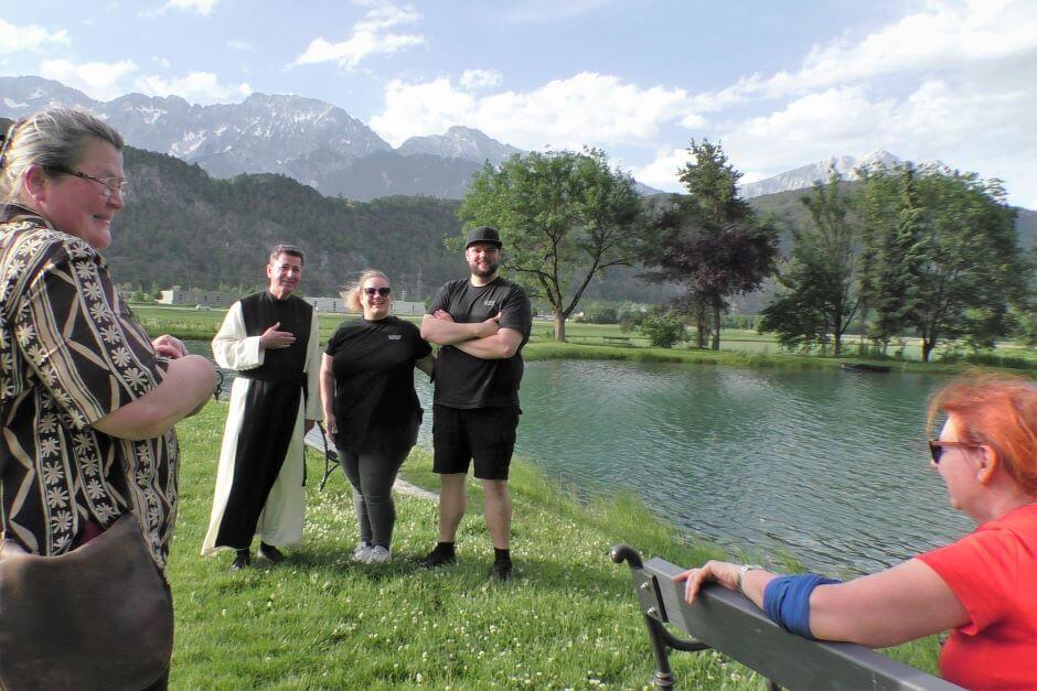 Die Schwarzfischer - Auszeit im Kloster an den Fischteichen