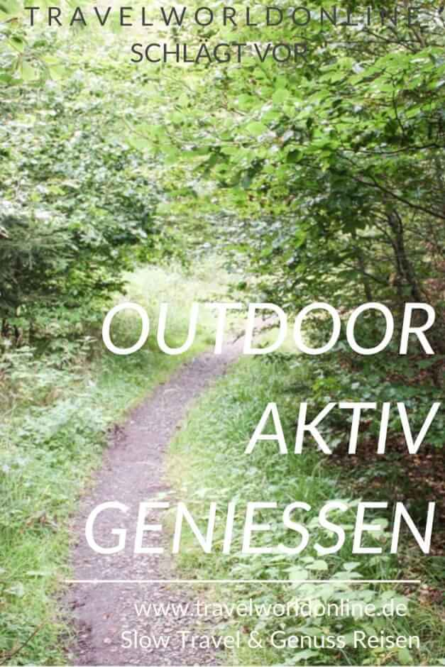 Enjoy the outdoors actively