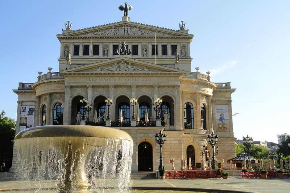 Alte Oper Frankfurt Sehenswürdigkeiten Innenstadt