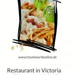 Restaurant in Victoria on Vancouver Island