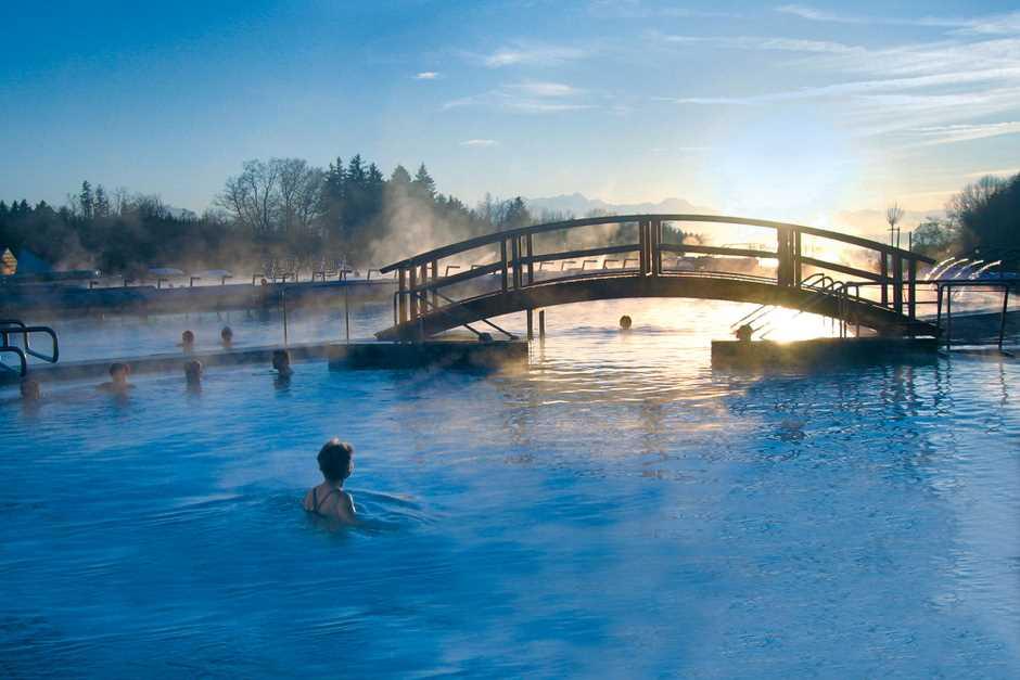 Wellness Wochenende am Chiemsee in den Chiemgau Thermen in Bad Endorf