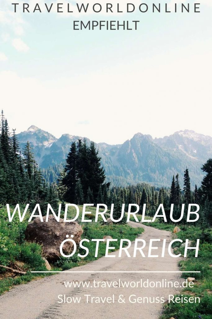 Holidays in Austria hiking