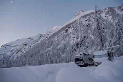 Wintercamping Bayern